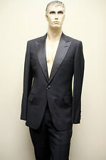 $3250 New GUCCI Mens Wool Tuxedo Suits Jacket Trousers EU 58R US 48R 206637 1000
