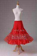 US Stock Swing Vintage Prom Crinoline Petticoat Women Skirts Silps TUTU 50s
