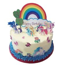 Eßbar Tortenaufleger My little Pony Pferde Dekoration Geburtstag Muffin NEU dvd