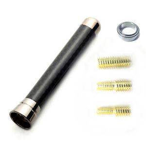 Short Antenna Real Carbon For DAIHATSU Move custom 10.12 ~ LA 100.110 S