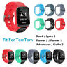 Silicone Bracelet Bande Sangle Pour TomTom Runner 2 / 3 Spark 3 Sport GPS Watch