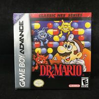 Dr. Mario Classic NES Series (Game Boy Advance, 2004) Cardboard Box Shipping!!