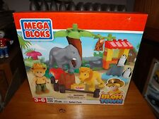MEGA BLOKS, BLOK TOWN SAFARI PARK, NEW IN BOX, #372, 2011