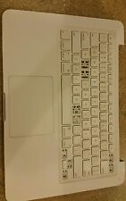 Macbook Unibody A1342 13 Top Case Palmrest Keyboard Trackpad Parts