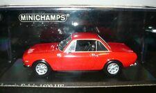 Minichamps 400125701, Lancia Fulvia 1600 HF, 1970, rosso corse, 1/43, NEU&OVP