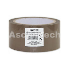 Package tape, 50 mm x 66 m, brown