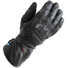 Oxford Voyager Waterproof Winter Leather Motorcycle Gloves - Black GM103M M