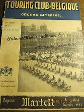 Touring Club de Belgique 15 Juillet 1948 Quelques curiosités de Braine-le-Châtea
