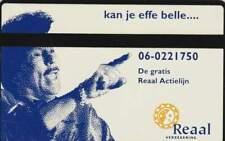 Telefoonkaart / Phonecard Nederland RDZ106 ongebruikt - Reaal Verzekeringen