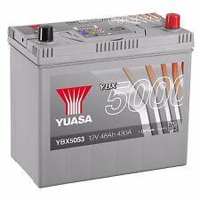 Yuasa YBX5053 12V Silver 053 Series Car Battery 48Ah 430A