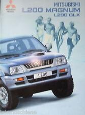 Mitsubishi  L200  Magnum GLX  .  03/2001  Prospekt  #420