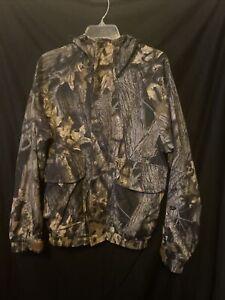 Columbia Mossy Oak Break Up Camo Mens Hunting Interchange Jacket Shell Small