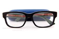 9227b8edf1c Brand New GUCCI Eyeglass Frames GG 0343 O 007 Black For Man Size 57