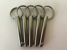 "QUICK PIN 316 STAINLESS STEEL 1/4"" X 1 1/4''"