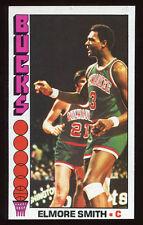 1976-77 Topps #65 Elmore Smith Bucks Carte NBA Basketball