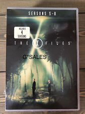 The X Files TV Series Complete Seasons 5-8 (5 6 7 & 8) BRAND NEW US DVD SET