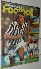 FRANCE FOOTBALL 1795 02/09 1980 TRESOR FRANCE-JUVENTUS BRADY PLATINI LIGA