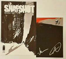 Snapshot #1 Image Comics + Card Signed By Andy Diggle & Jock NM