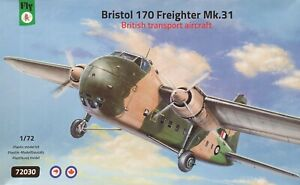 RAAF/TAA/ANSETT-ANA - BRISTOL FREIGHTER 170 MK31 - 1/72