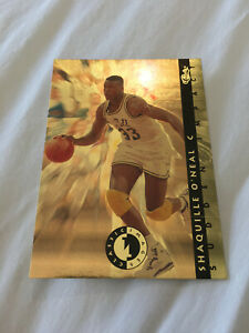 "SHAQUILLE ONEAL ROOKIE ""GOLD"" 1993 CLASSIC LSU TIGERS RC BASKETBALL CARD"