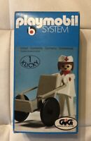 Playmobil Klicky 3362 INFERMIERA con SEDIA a ROTELLE MISB Nuovo Vintage
