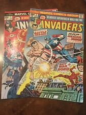 Lot of 2 Marvel The Invaders #3  4 comic books bronze age