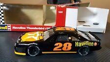 1992 Revell NASCAR Davey Allison Havoline Texaco Thunderbird #28 Black 1/24