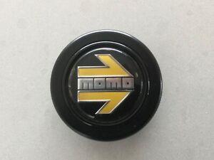 Momo Arrow Horn Button Polished Black
