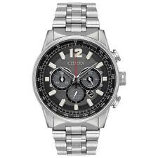 -NEW- Citizen Nighthawk Eco-Drive Watch CA4370-52E