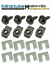 GM CORRECT LOWER FENDER BODY FRONT END HARDWARE BOLT BOLTS  ANCHOR HEAD PNT 16pc