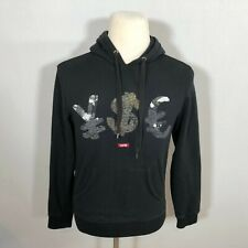 YMCMB Men Pullover Hoodie Sweatshirt Jacket Top Size Small Black - D137