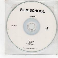 (FU530) Film School, On & On - 2005 DJ CD