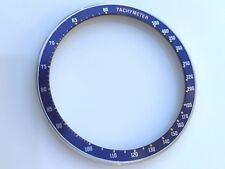 Steel bezel w/insert seiko 6138-0030 6138-0031 Kakume chron blue Tachymeter 6138