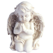 Kneeling Praying Cherub Statue Angel Figurine Home Garden Decor Memorial Statue