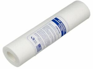 """5 Micron 10"""" Standard Sediment Cartridge for Water Filters and Reverse Osmosis"""