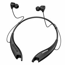 Mpow Jaws Gen-5 Bluetooth 5.0 Headphones Wireless Neckband Headset Earphone MIC