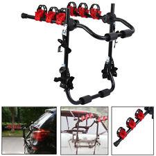 Fahrradheckträger Fahrradhalter faltbar für 3 Fahrräder mit Sicherheitsgurte