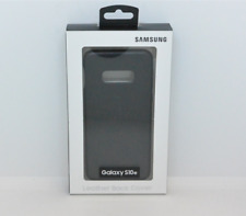 New OEM Samsung Leather Black Case For Samsung Galaxy S10e