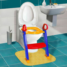 Kids Toilet Ladder Baby Toddler Training Toilet Step Potty Seat Chair Trainer