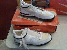 Vintage Nike Football Shoes Cleats Nos Deadstock Boss Shark Sz 13 3042 White 80s
