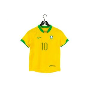 2006 NIKE Brazil Ronaldinho Jersey Size Youth Medium (10)