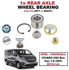 für Opel Vivaro X82 Bus Van 1.6 CDTi 2014 - aufwärts 1x Hinterachse Radlager