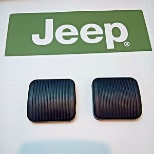 Jeep TJ Wrangler manual transmission Brake and Clutch pedal rubbers