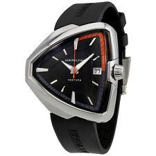Hamilton Ventura Elvis80 Black Dial Mens Quartz Watch H24551331