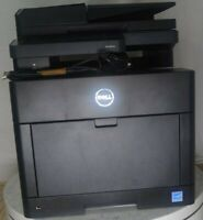 Dell H625CDW 0N947X Wireless Color MFP Laser Printer Scanner Copier SEE NOTES