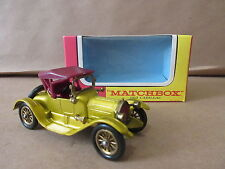 Mathcbox Models of Yesteryear Y-6 1913 Cadillac Lesney Product car automobile