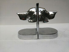 Decorative Bookend Pair with Dog Head
