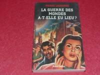 [BIBL H.& P.-J. OSWALD] PIERRE LAGRANGE - GUERRE DES MONDES 2005 Signé O. Welles