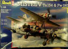 Revell 1/48 MISTEL V Ta.154 & Fw.190