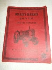 Tractor Ferguson Massey Two Books, Parts And Service Manual Model 745